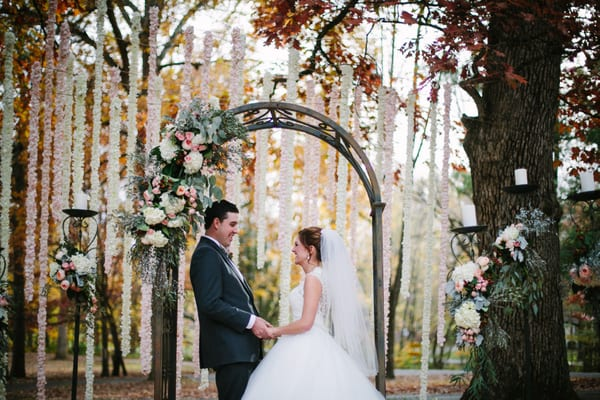 Enchanted Florist, Outdoor Wedding Ceremony, Kayla Anderson Photography (79)