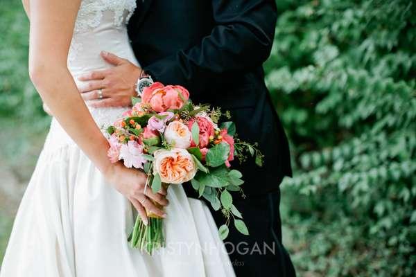 Enchanted Florist, Pink Wedding Downtown Nashville, Kristyn Hogan Photography (7)