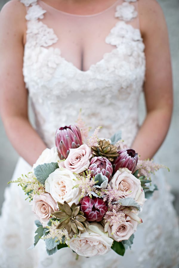 Enchanted Florist, Luxe Pink Wedding Downtown Nashville, Phindy Studios (1)