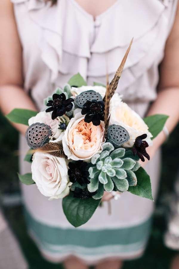 Enchanted Florist, DramaticTextured Bouquet Ulmer Studios
