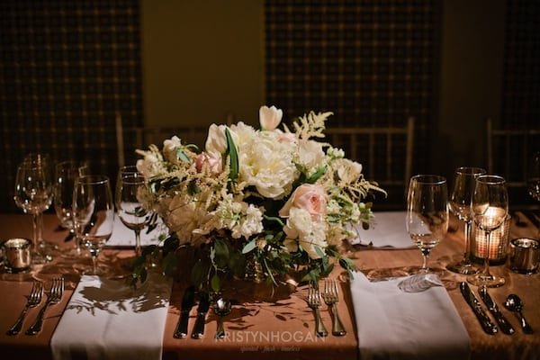 Enchanted Florist, Luxe White Wedding at Schermerhorn Symphony Center, Kristyn Hogan Photography -102