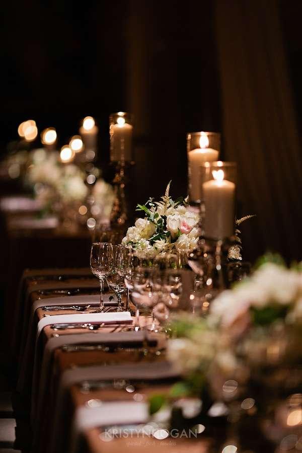 Enchanted Florist, Luxe White Wedding at Schermerhorn Symphony Center, Kristyn Hogan Photography -104