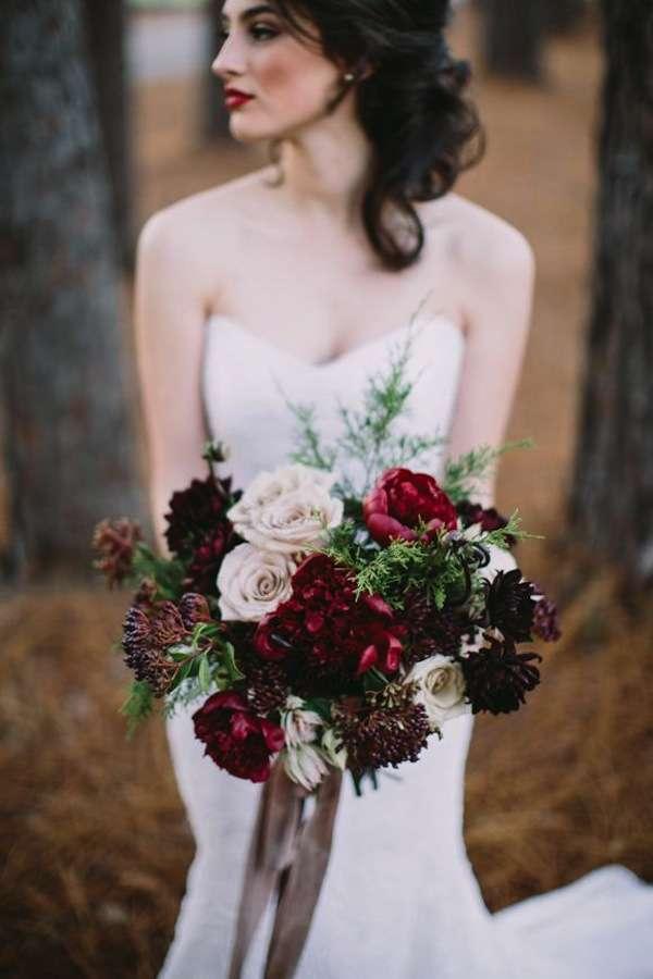 cote designs winter florals, casto photography